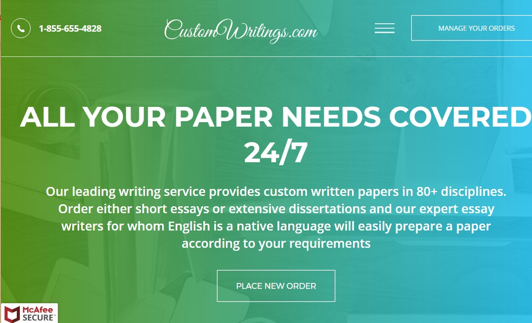 customwritings.com overview