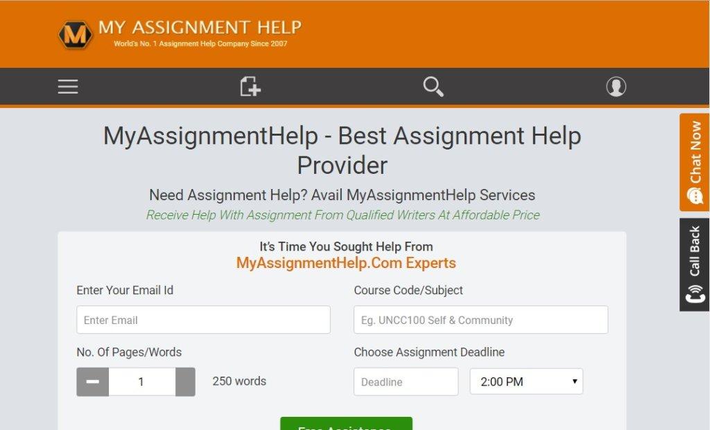 myassignmenthelp.com review