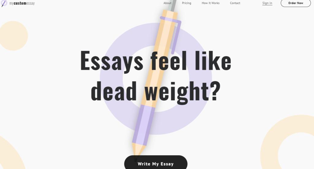 mycustomessay-website